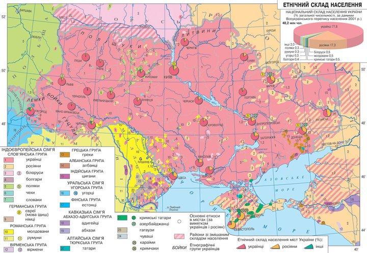 Etnicheski Karti Blgari V Ukrajna